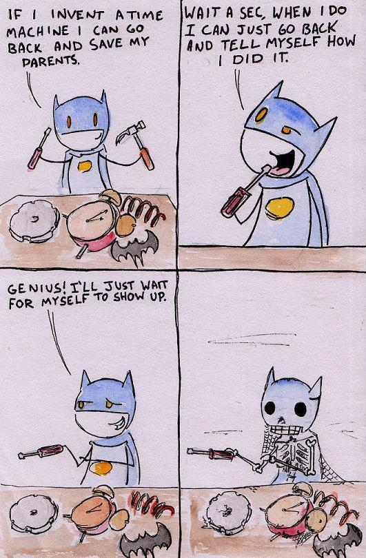 The Batman Paradox