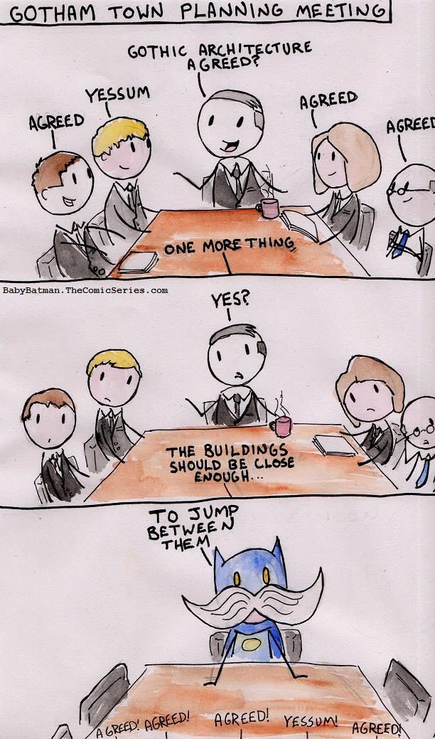 Gotham Council plots a plot