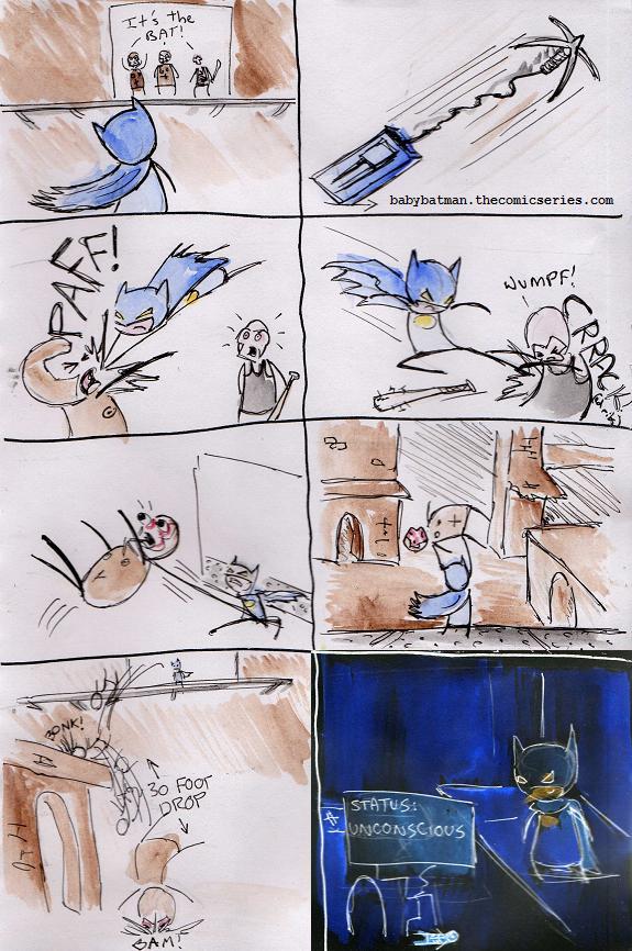 BabyBatman plays even more Arkham Asylum